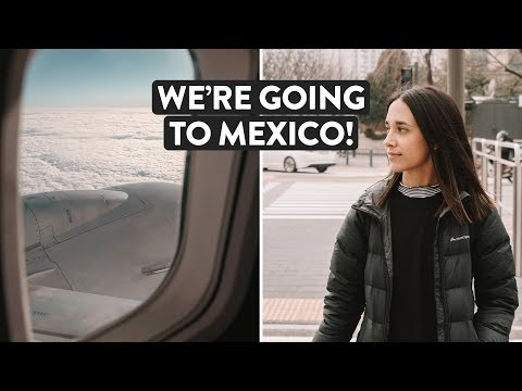 Flying From The UK To Mexico | Glasgow To Cancun Travel Day