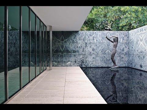 [36] German Pavilion | Ludwig Mies van der Rohe