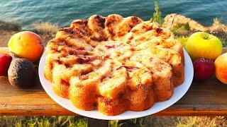 Пирог Фантазия. Быстрый и простой рецепт фруктового пирога к чаю