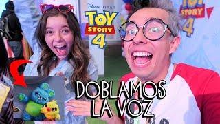 Somos la Voz de Personajes en Toy Story 4 y Hacemos un Juguete en la Fabrica Real - VLOG #87