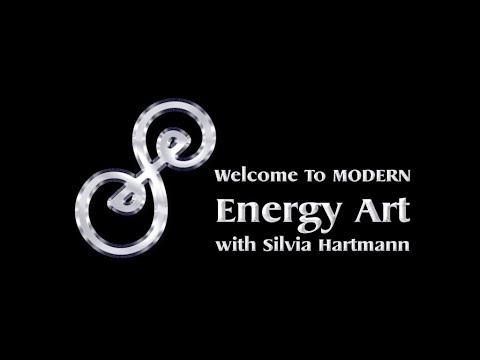 Modern Energy Art With Silvia Hartmann