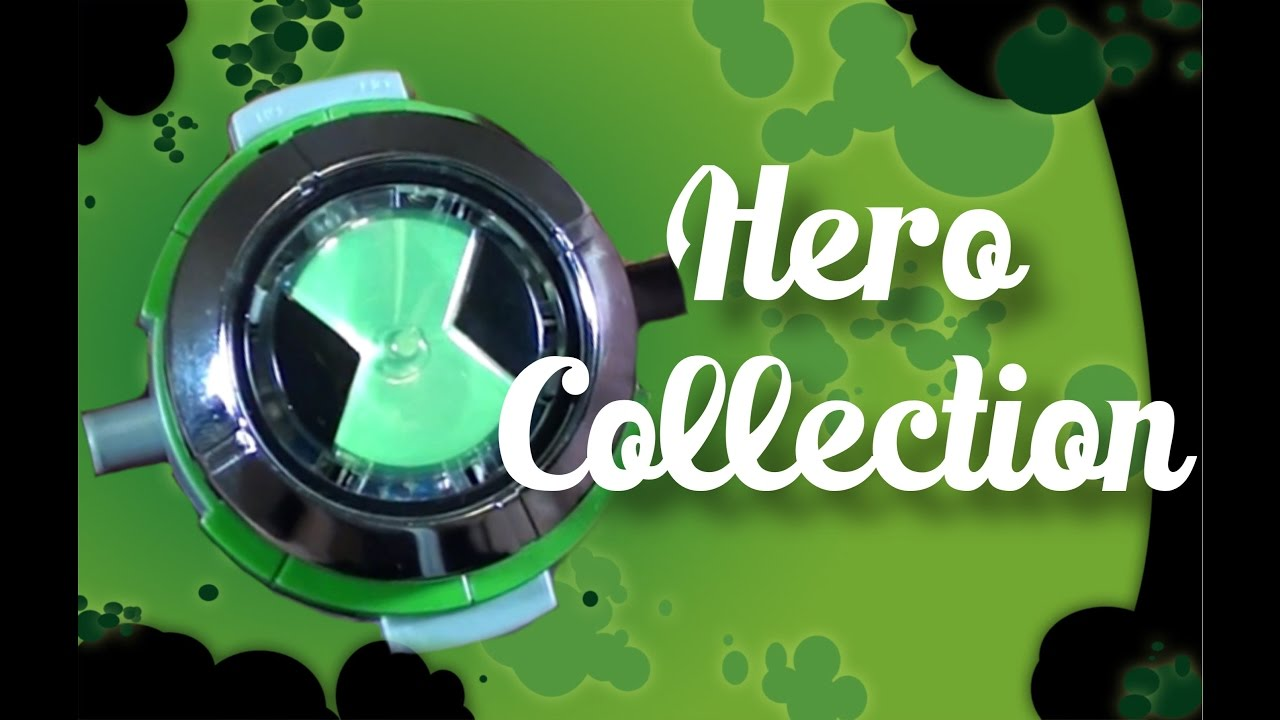 ben 10 ultimate omnitrix hero collection review youtube