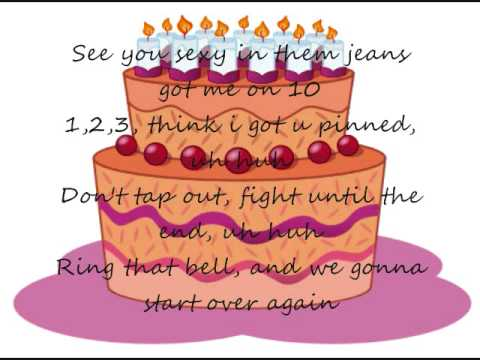 Birthday sex uptempo lyrics