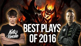 BEST Plays of 2016 - Dota 2 #3