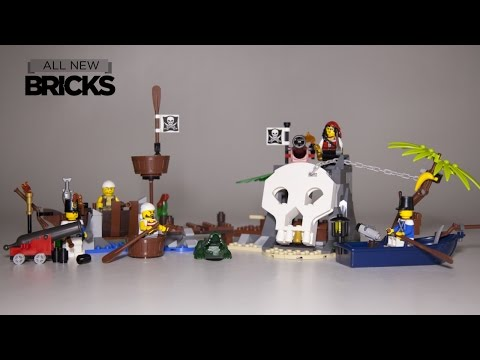 Lego Pirates 70411 Treasure Island  Paired with 70409 Shipwreck Defense Speed Build