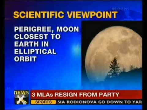 Super moon to light up Indian skies at 9.04 PM today - NewsX
