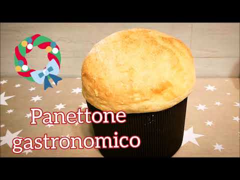 Panettone Gastronomico fatto in casa con Monsieur Cuisine Plus e Connect Lidl