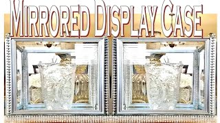 Dollar Tree DIY Mirrored Display Case| Room Decor DIY