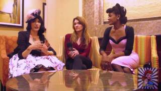 Pinup America's Angelique Noire Interviews Laura Byrnes & Micheline Pitt Of Pinupgirlclothing.com