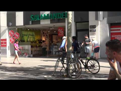 Frankfurt Summer In The City with Hot Pants