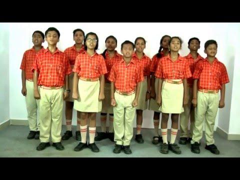Complete Jan Gan Man - Indian National Anthem by Laurels Students