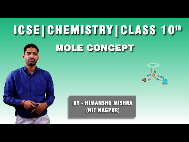 ICSE | Class 10th | Chemistry | Mole concept | Differentiate between Atomic Weight & Actual Weight