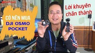 CÓ NÊN MUA DJI Osmo Pocket ▶ Khi đã có Gimbal Osmo Mobile 2 | Zhiyun Smooth Q | GoPro 7
