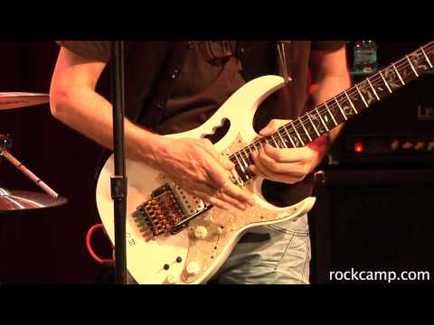Steve Vai jams on Little Wing at Rock 'n' Roll Fantasy Camp