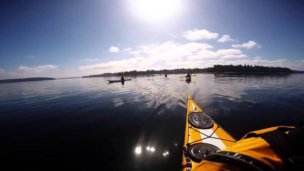 sea kayaking wallpaper