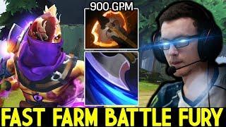 Miracle- [Anti Mage] When Pro Tryhard Mode 12 Min Battle Fury Fast Farm 7.22 Dota 2