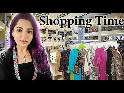 WEDDING SHOPPING IN PAKISTAN and visiting a school | KARACHI VLOG | Fictionally Flawless