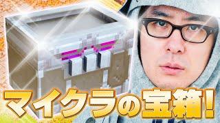 【世界限定100個!】重量8.5キロ!マイクラのリアル宝箱が届いたから開封するわ!!!|瀬戸弘司 / Koji Seto