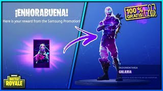 COMMENT je GET THE SKIN GALAXY TOTALEMENT GRATUIT! FORTNITE: Bataille Royale 'WORKS'