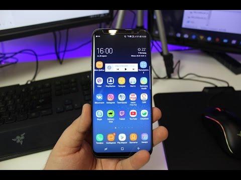 САМЫЙ ПОЛНЫЙ ОБЗОР Samsung Galaxy S8+ / S8 - телефона и аксессуаров
