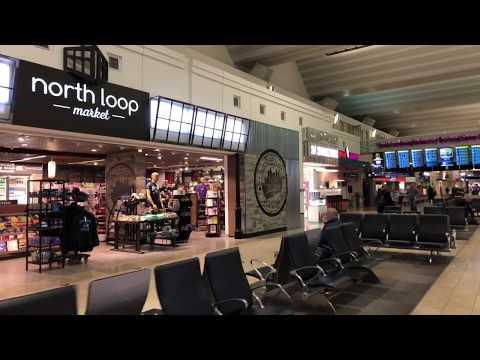 Minneapolis | Tour Minneapolis / St. Paul International Airport (MSP) Terminal 1 mall
