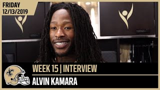 Alvin Kamara, 'We Haven't Played Our Best Game Yet' | New Orleans Saints Football