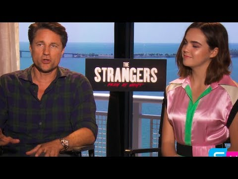 The Strangers Prey At Night :  Bailee madison and Martin Henderson talks about the true events