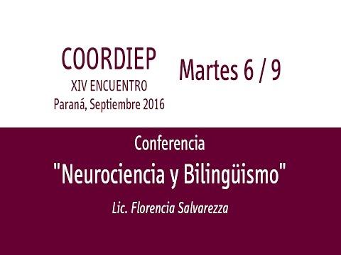 XIV Encuentro COORDIEP Parte 7 - Conferencia -  Lic  Florencia Salvarezza