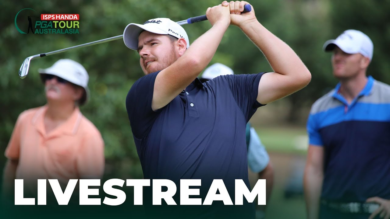 Round 4 Livestream | 2019 Coca-Cola QLD PGA Championship | Live Golf