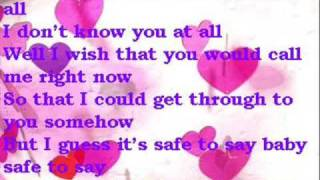 Officially missing you with lyrics