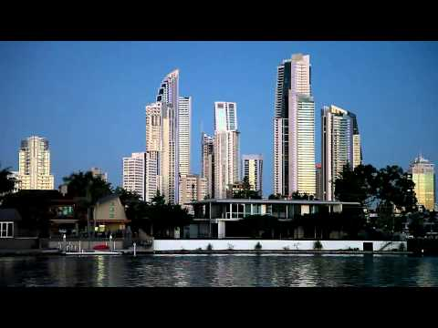 Surfers Paradise From Harry Bond Park 20th May 2013
