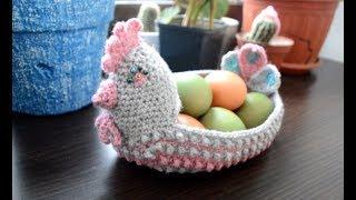 Пасхальная курочка крючком: мастер-класс - Easter chicken Crochet