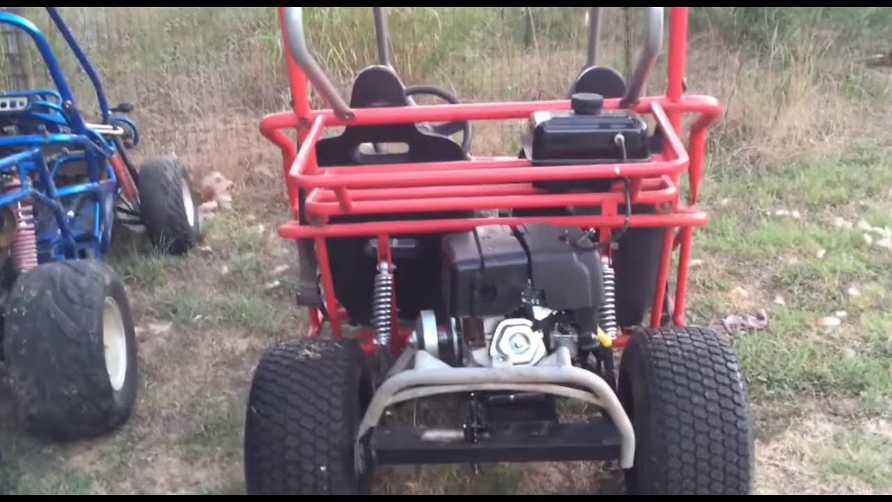 40 series torque converter on a spiderbox yerfdog - DIY Go