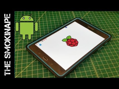 How To Connect To Raspberry Pi 3 From Andriod (ssh & VNC) - Headless Operation - TheSmokinApe