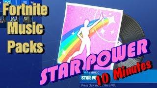 """Fortnite """"STAR POWER"""" Music Pack [10 min version]"""
