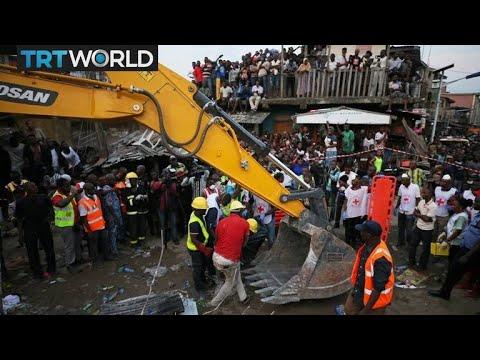 Nigeria Building Collapse: Building housing school collapses in Lagos