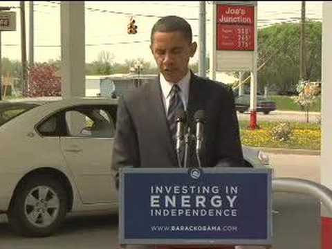 Barack Obama on Gas Prices in Indianapolis