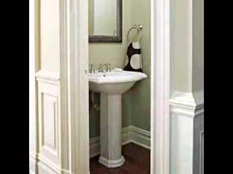Half bathroom design ideas - YouTube