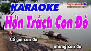 Hờn Trách Con Đò Karaoke 123 HD (Tone Nữ) - Nhạc Sống Tùng Bách