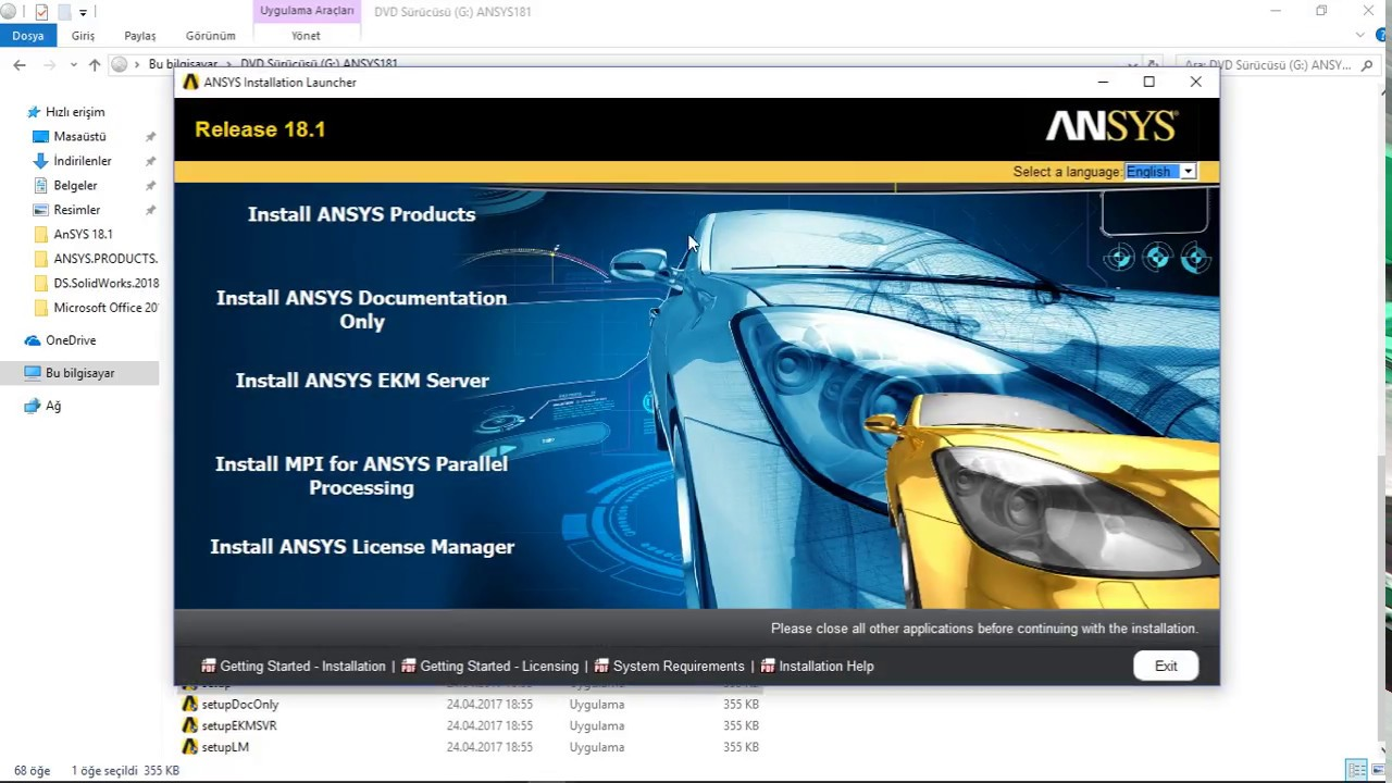 How to complete install AnSys 18 1 AnSys 18 1 Full Setup