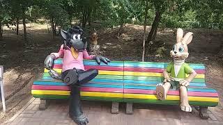 Аллея детства парка в Пятиморске