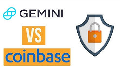Gemini Exchange vs Coinbase Review | Does Gemini's FDIC Insurance & Cold Wallet Make It Safer?