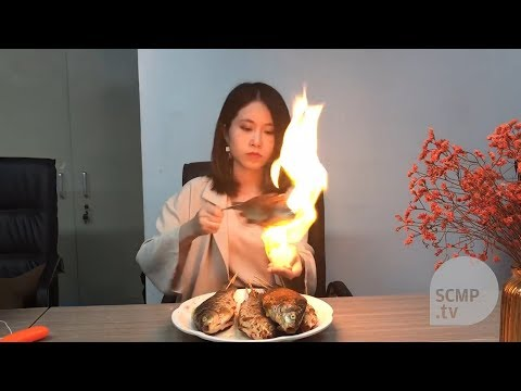 Desktop cooking: millions watch China's Youtube celebrity chef Ms Yeah