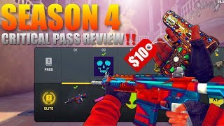 Critical Ops Season 4 Pass Review‼️Is It Actually Worth $10??