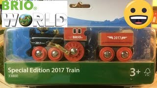 unpack Brio 33800 Special Edition 2017 Train (03868)