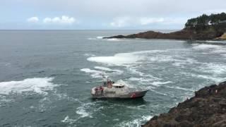 US Coast Guard Rescue 9/03/2016 Depoe Bay, Or