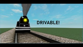 HOW TO MAKE A DRIVABLE TRAIN ON ROBLOX 2019