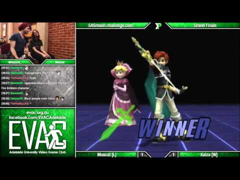 EVAC 8/4/16 - Muscat (R.O.B./Peach/C. Falcon) vs Kaiza (Roy) - Grand Finals - PM