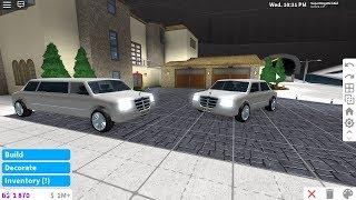 SuperMegaRichKid Roblox New Bloxburg Limousine and Noobus Superior Cars (Update December2018)