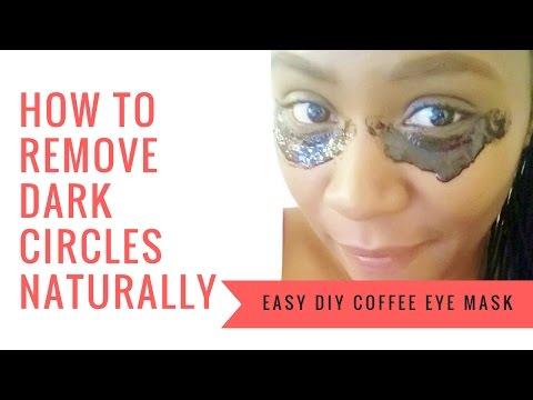 Get Rid of Dark Under Eye Circles & Puffy Under Eye Bags Fast! | Easy DIY Coffee Eye Mask